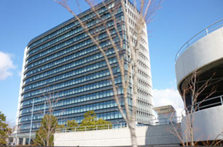 Toyota's modern steel and glass headquarters in Toyota City, a city of more than 400,000 that is twinned with Detroit.
