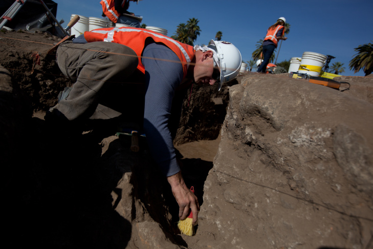 San Gabriel Mission Excavation