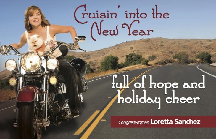 Congresswoman Loretta Sanchez's holiday card, 2010