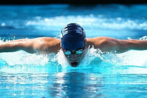 Jack Davis, 18, senior at Palisades Charter High School and captain of his swim team