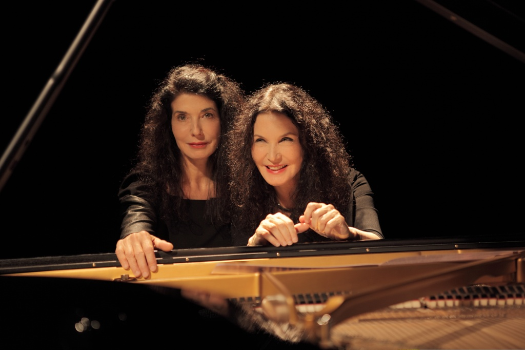 French piano duo, Katia and Marielle Labeque, have pioneered double piano music for nearly 40 years.