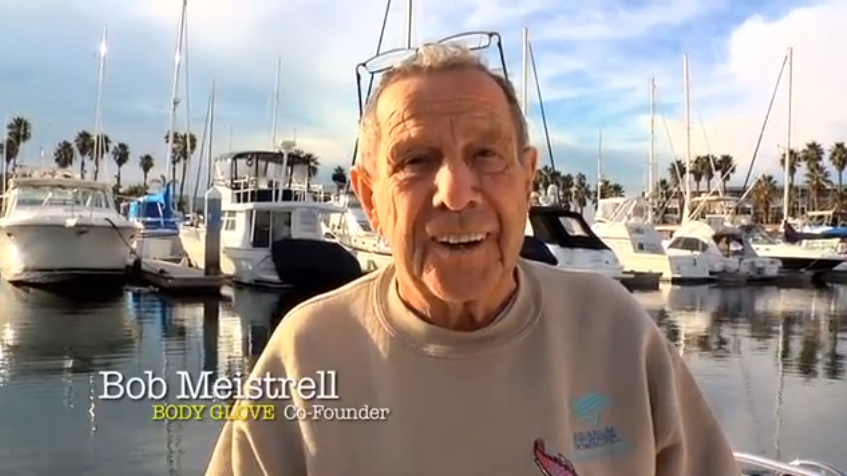 Body Glove co-founder Bob Meistrell died of a heart attack on June 16, 2013 at the age of 84.