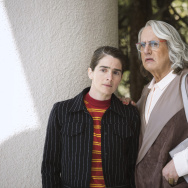 """Gaby Hoffman (left) and Jeffrey Tambor (right) in season 4 of the Amazon television series """"Transparent."""""""