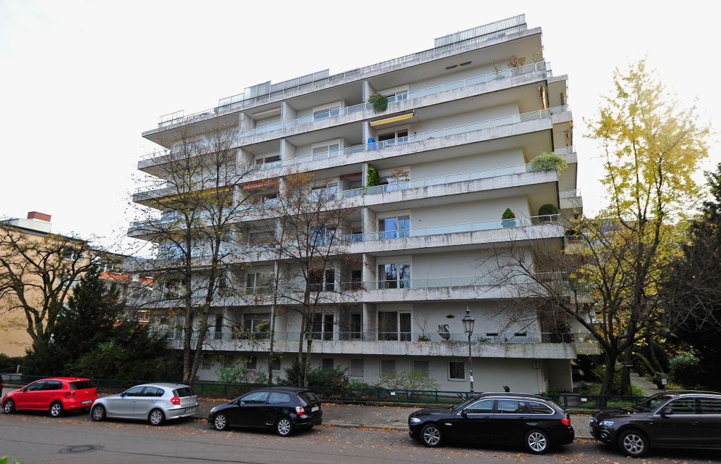 An exterior view of the apartment buildings containing the residence of Cornelius Gurlitt, where according to media reports customs agents seized 1,500 paintings that had been confiscated by the Nazis in the 1930s and 40s, on November 4, 2013 in Munich, Germany. Gurlitt's father Hildebrand Gurlitt was an art dealer who oversaw the confiscations of what the Nazis termed