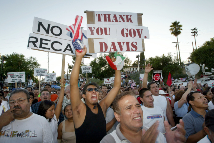 California Governor Davis Signs Bill Allowing Driver Licenses For Illegal Aliens