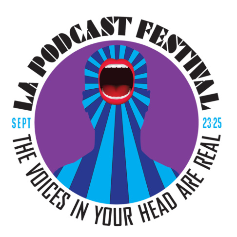 Los Angeles Podcast Festival logo