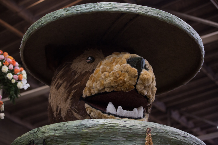 An animatronic Meatball the Bear is on the City of Glendale's