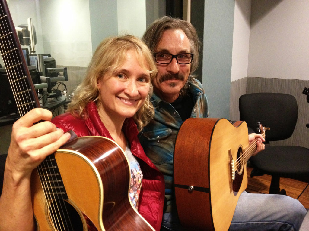 Jill Sobule and Gary Eaton.