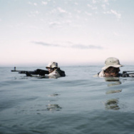 Navy Seals in training