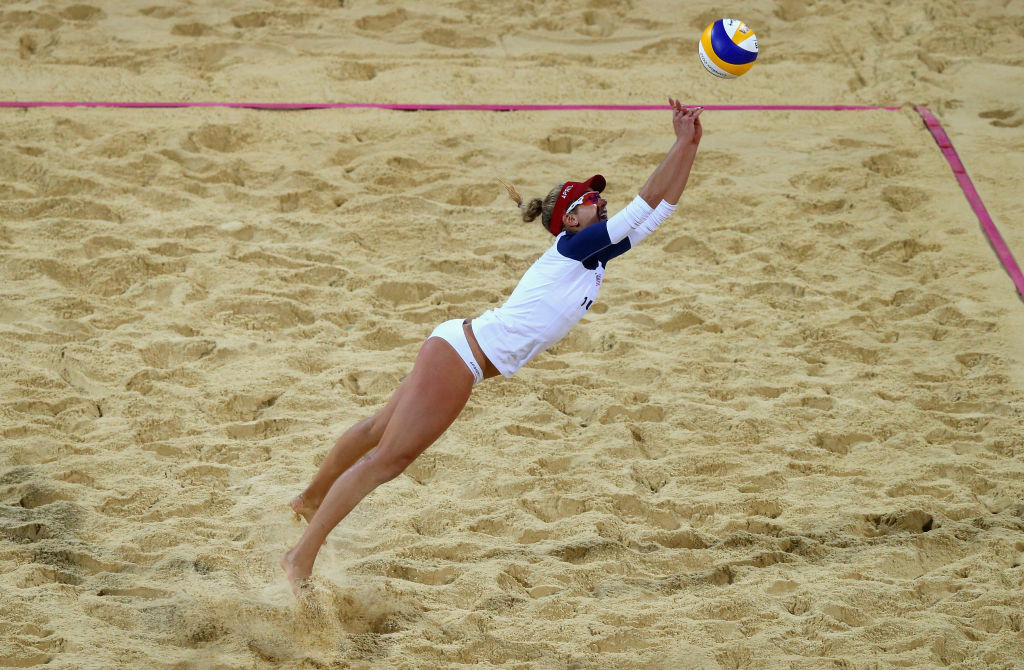 Update Photos Of The Olympic Womens Beach Volleyball -5932