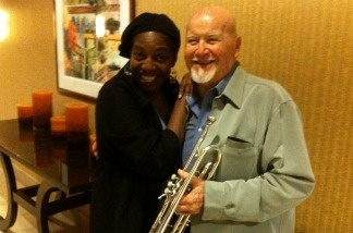 Wally Holmes and Eva Dupree of the Sweet and Hot Music Festival
