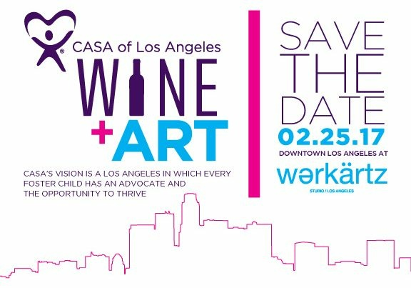 CASA of Los Angeles - 3rd Annual CASA Wine+Art