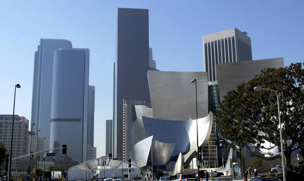 Walt Disney Concert Hall, home of the LA Phil, in Downtown Los Angeles.