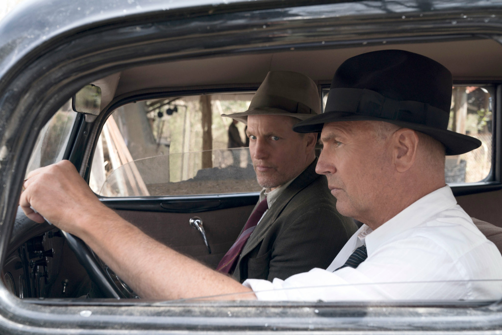 Woody Harrelson and Kevin Costner in the Netflix movie