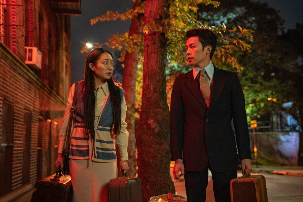 Kunjue Li (L) and Hing Chi-Lee (R) in Tigertail.