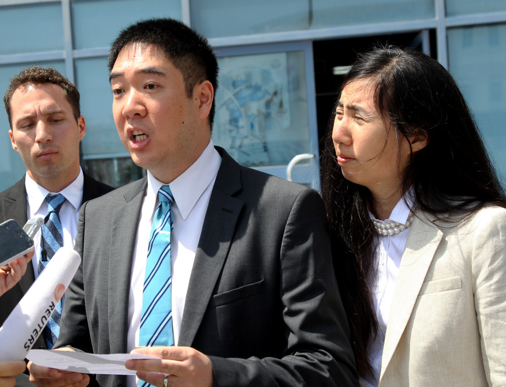 Matthew and Grace Huang, from the Los Angeles area, have been barred from leaving Qatar, even after being exonerated in the death of their adoptive daughter. (File Photo)
