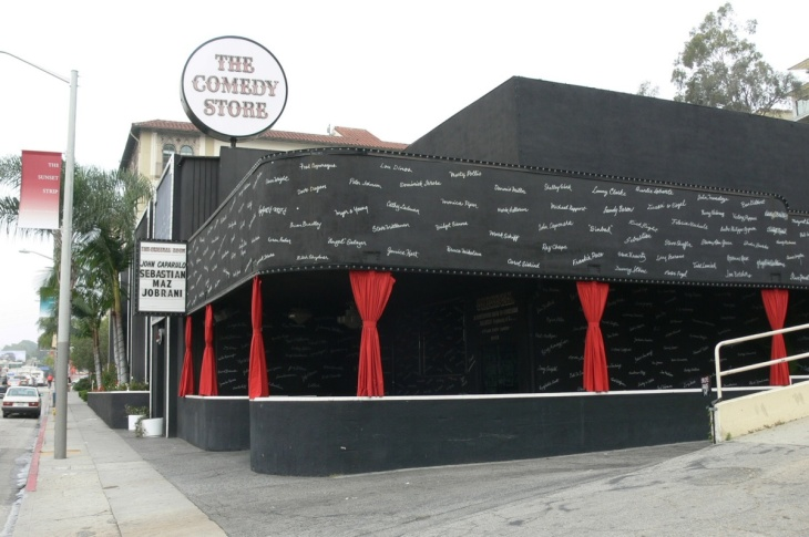 Comedian Bobby Lee of Mad TV performs a set at the Comedy Store August 30, 2003 in Hollywood.