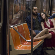 """Allison Williams as Marnie and Chris Abbott as Charlie in the HBO series, """"Girls."""""""