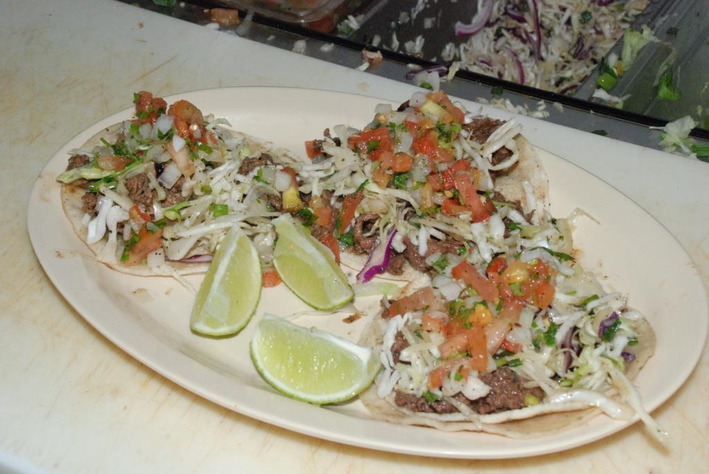 The bulgogi beef tacos at KoMex.