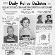 A copy of of the LAPD's Daily Police Bulletin