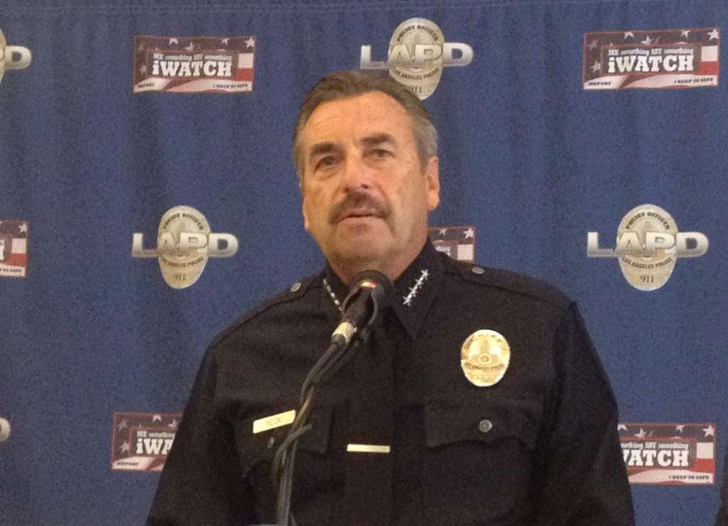LAPD Chief Charlie Beck is seeking a second five year term.