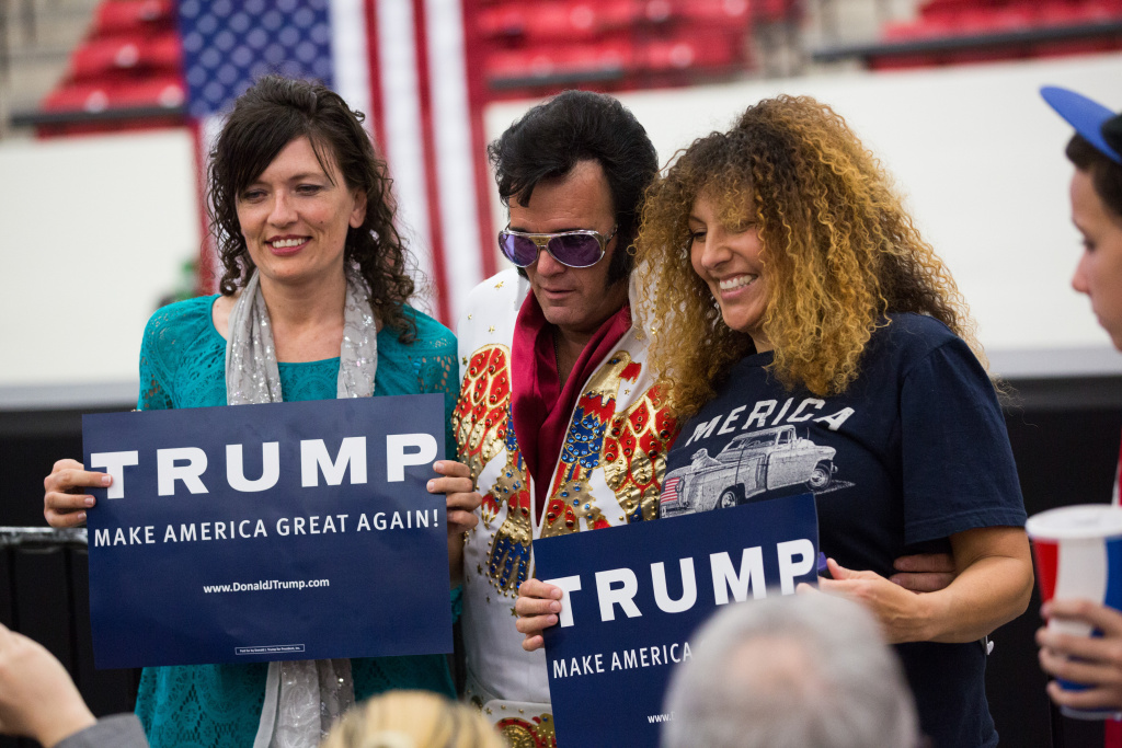 LAS VEGAS, NV - February 22, 2016 : Atmosphere at Donald J. Trump for President Rally at Souht Point Arena at South Point Resort Hotel  in Las vegas, NV on February 22, 2016. Credit: Erik Kabik Photography/ MediaPunch/IPX