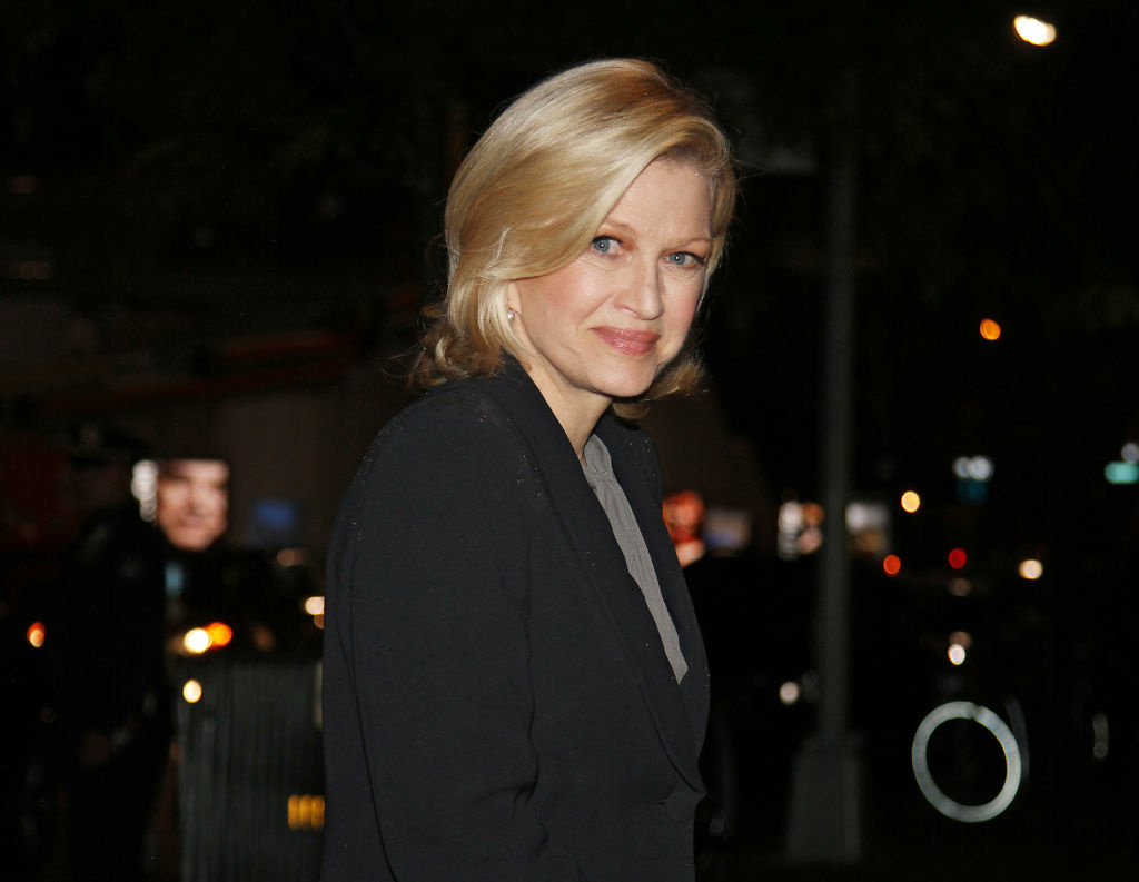 Diane Sawyer attends Marvin Hamlisch Memorial Service at Peter Jay Sharp Theater on September 18, 2012 in New York City.