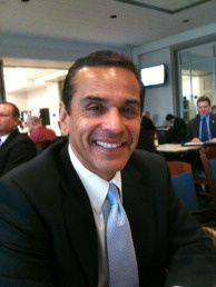 Los Angeles Mayor Antonio Villaraigosa during a trip to Washington D.C., Feb. 23, 2010.