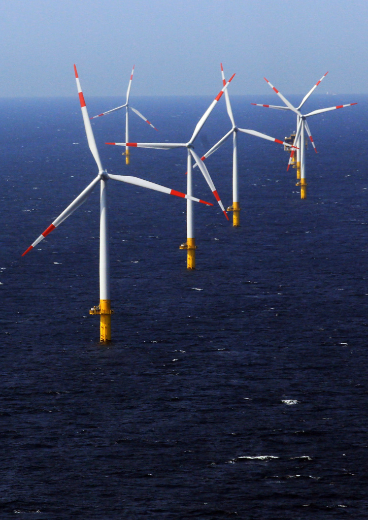 An example of marine spatial planning with wind turbines in the Batlic Sea