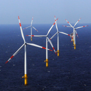 Offshore Windpark In Baltic Sea