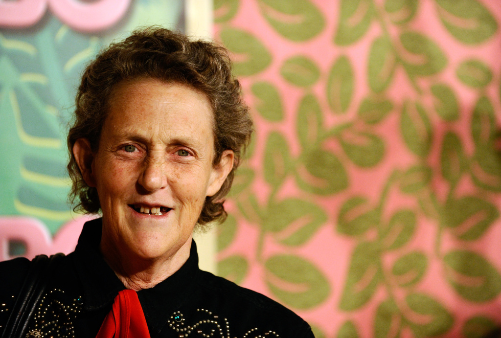 Temple Grandin at HBO's 2010 post-Emmy Awards reception at the Pacific Design Center.