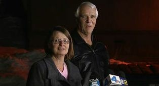 Karen and Jim Reynolds entered their Big Bear condo late Tuesday morning to find fugitive Christopher Dorner inside.
