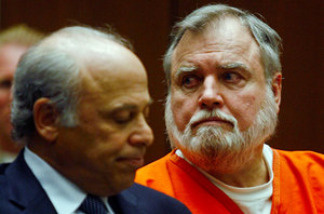 Michael Stephen Baker, a former Catholic priest, during a court appearance in 2007. He was sentenced to 10 years in prison for molesting two boys.