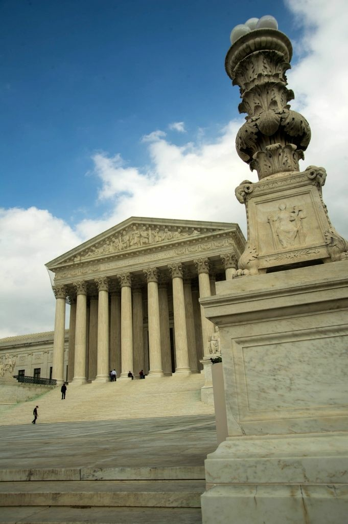 The US Supreme Court Building is seen in this March 31, 2012 photo on Capitol Hill in Washington, DC.
