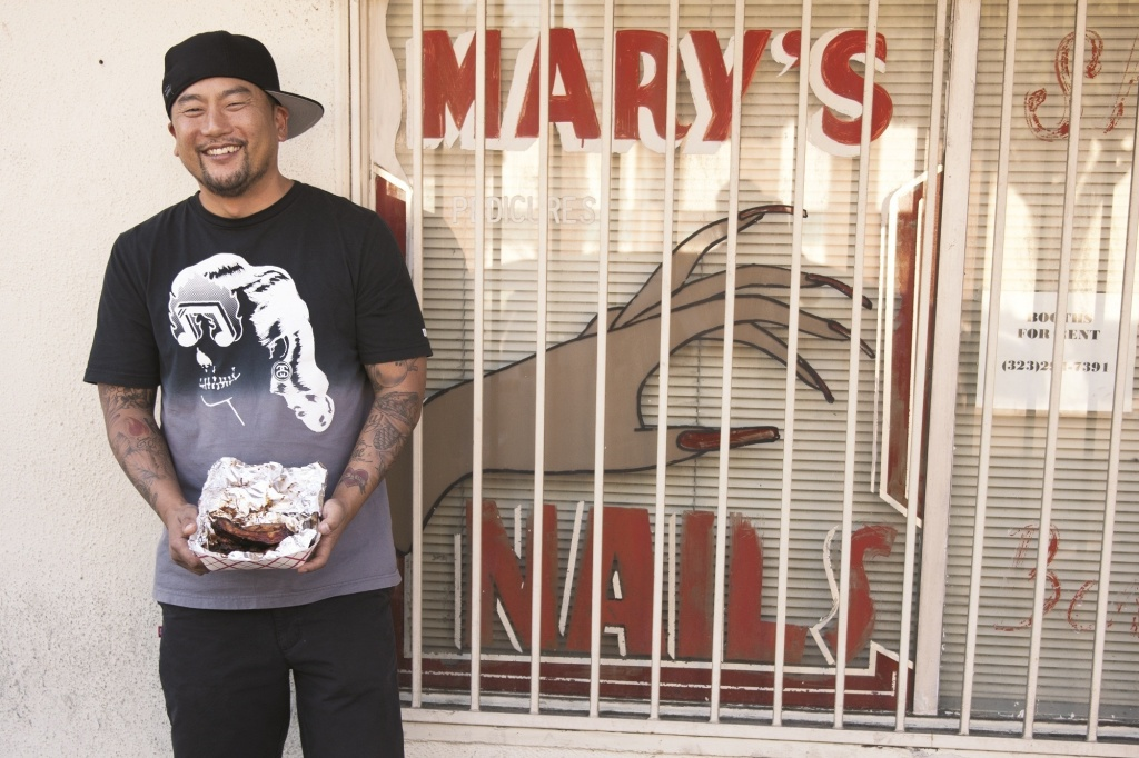 Roy Choi in his home city Los Angeles.