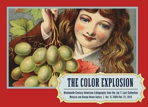 Color Explosion exhibit poster