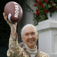 Rose Parade Jane Goodall