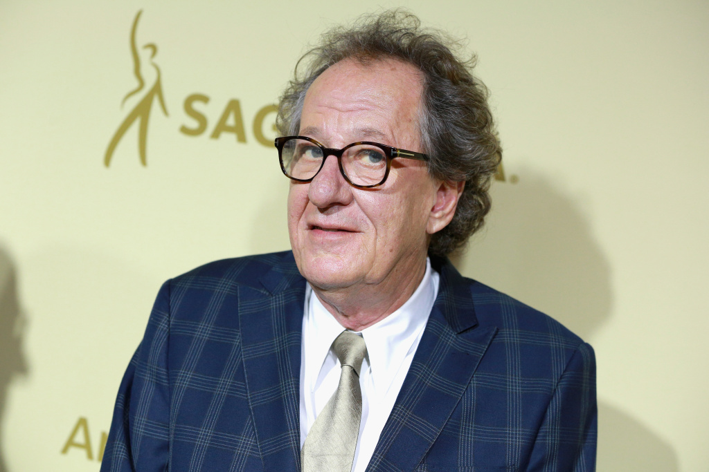 Geoffrey Rush attends The Hollywood Reporter and SAG-AFTRA Inaugural Emmy Nominees Night presented on September 14, 2017 in Beverly Hills, California.