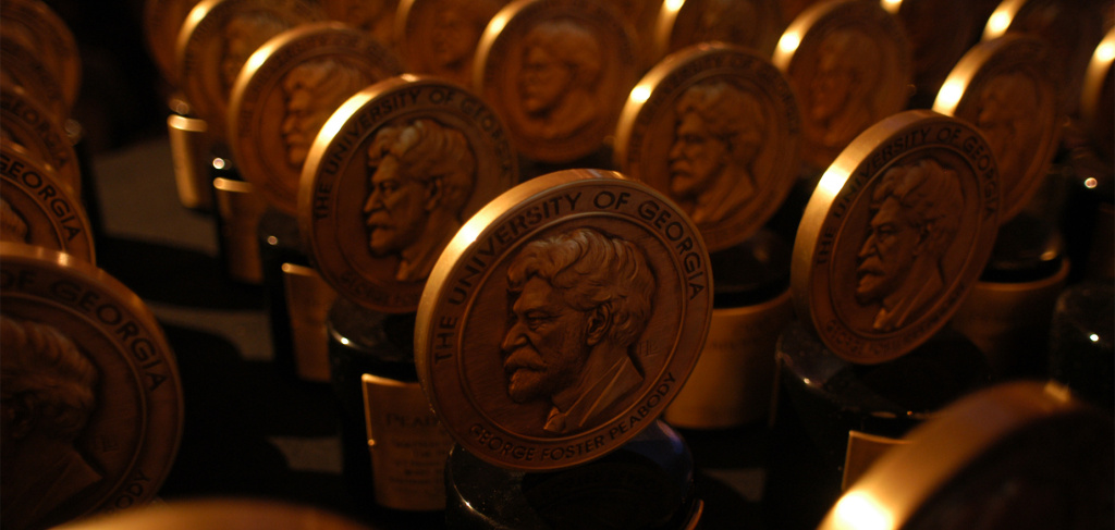 The Peabody Award, one of the most prestigious awards in media.
