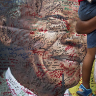 APTOPIX South Africa Mandela Mourning