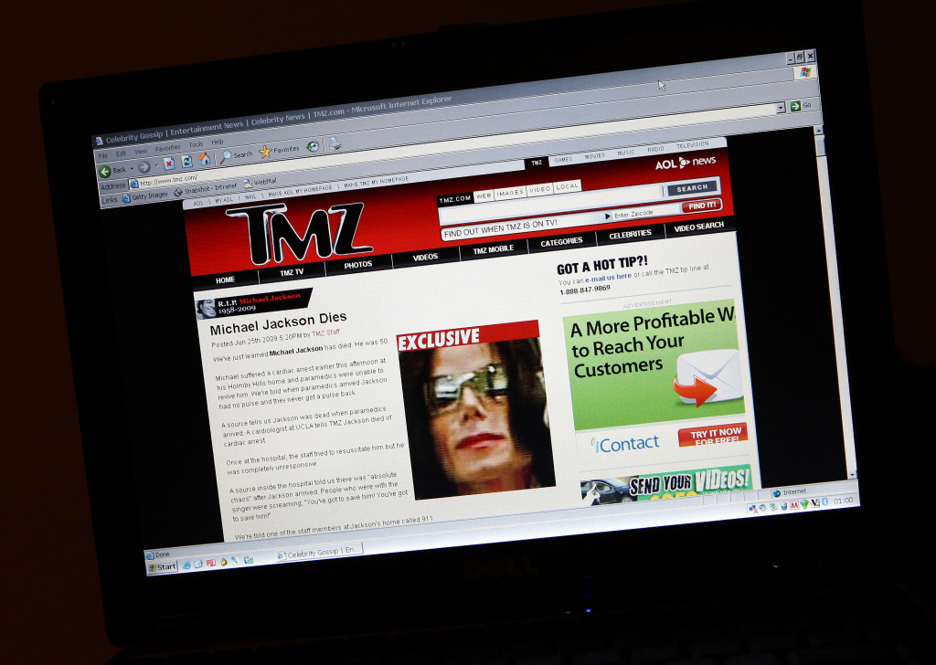 TMZ website reports the news that Michael Jackson has passed away on June 26, 2009 in London, England. The iconic pop star, 50, was rushed to the hospital today after going into cardiac arrest.