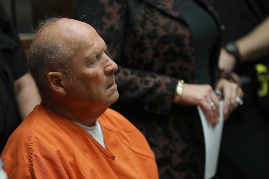 Joseph James DeAngelo, the suspected