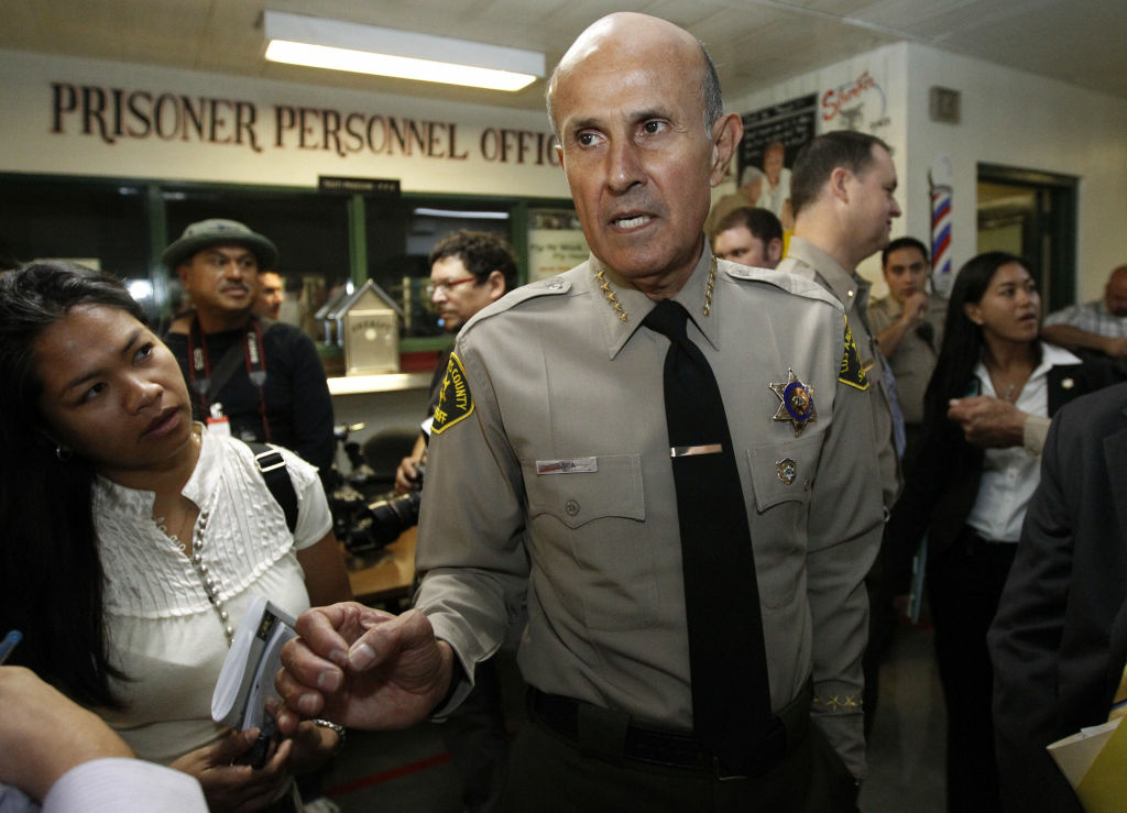 Los Angeles County Sheriff Lee Baca.