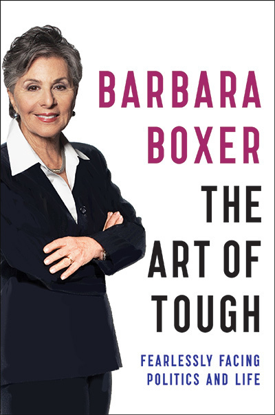 The book cover of Senator Barbara Boxer's new memoir,