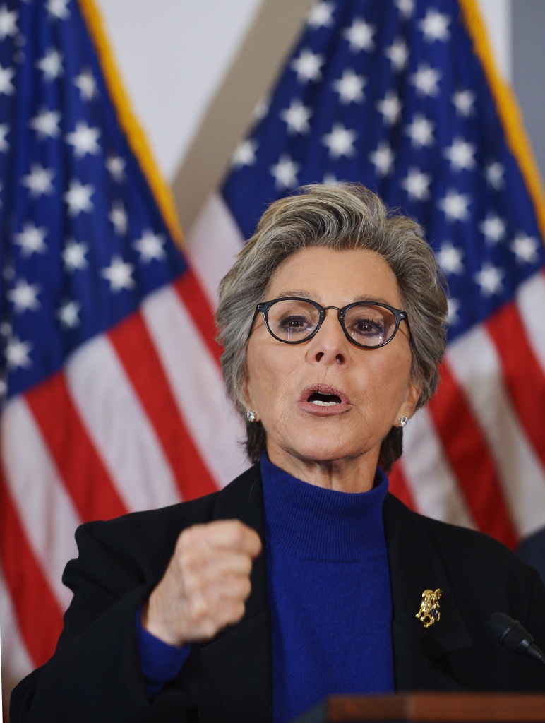 Three U.S. senators on Tuesday, including Democrat Barbara Boxer of California, urged Defense Secretary Ashton Carter to lift what they called the military justice system's