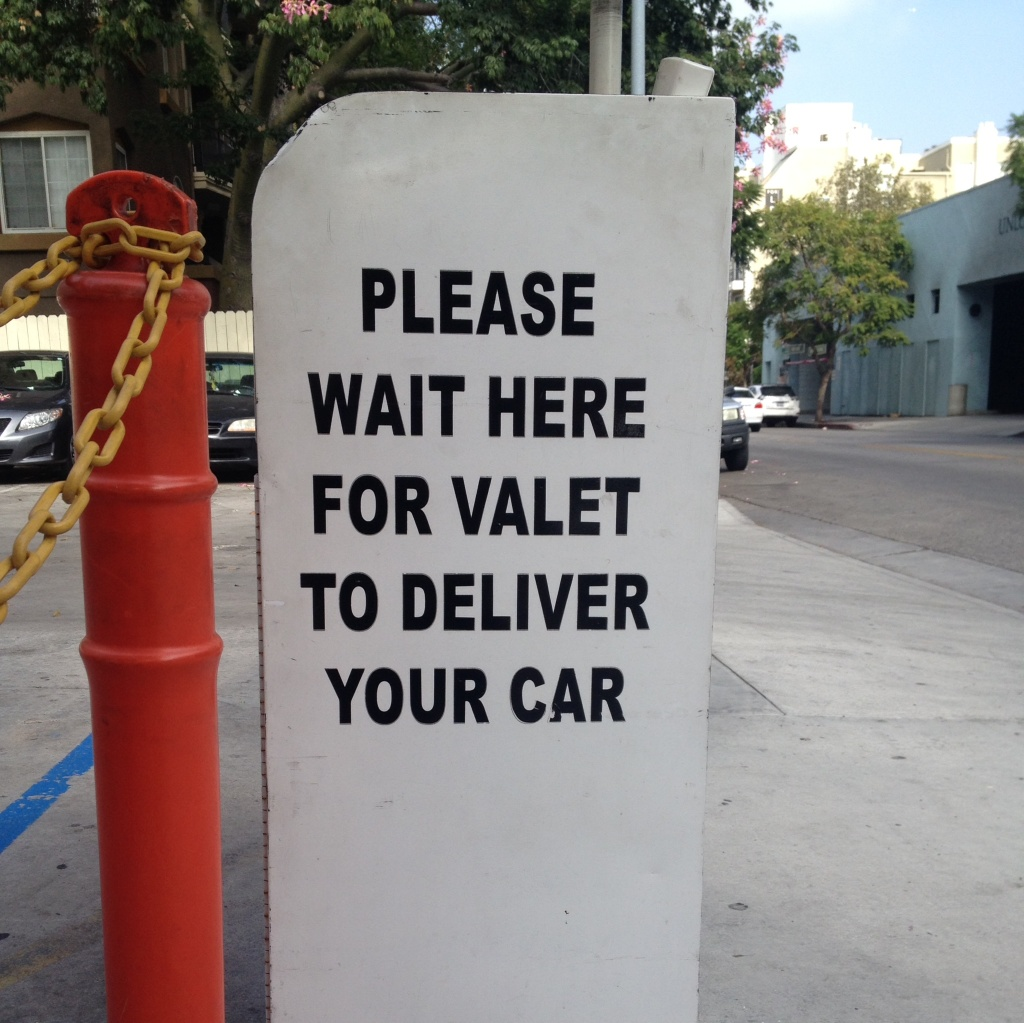 Valet operators and attendants will need to obtain permits with the city of Los Angeles in order to continue to do business in the city.