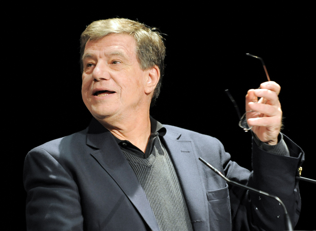 Film director John McTiernan delivers a speech on Jan. 31, 2010 in Gerardmer, eastern France, during the closing ceremony of the Fantastic'Arts Gerardmer film festival.