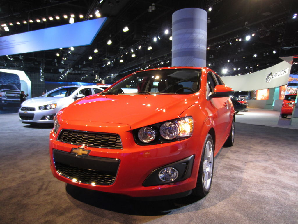 Don't think cool cars can some in small packages? No so. The new Chevy Sonic is proof that General Motors can finally do a tiny ride that commands attention.