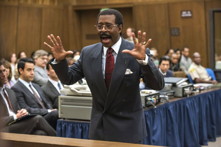 Courtney B. Vance pays defense attorney Johnnie Cochran in the FX series