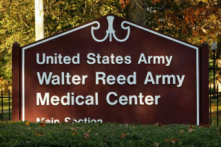 Walter Reed Army Medical Center is shown November 6, 2009 in Bethesda, Maryland.
